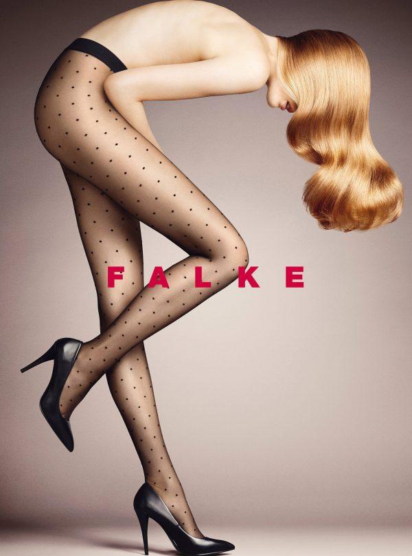 buy the Falke Dot 15 DEN Tights in Black