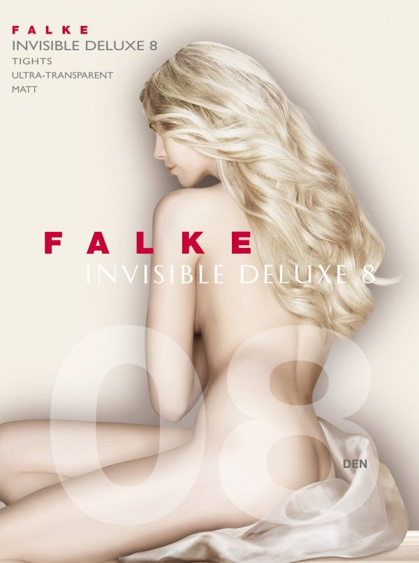 buy the Falke Invisible Deluxe 8 DEN Tights in Black