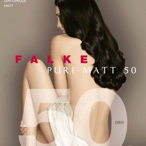 buy the Falke Pure Matt 50 DEN Tights in Black