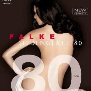 buy the Falke Seidenglatt 80 DEN Tights in Black