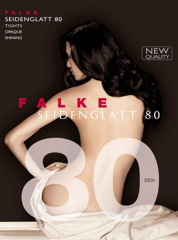 buy the Falke Seidenglatt 80 DEN Tights in Black