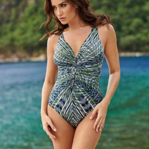 Miraclesuit Monteverde Charmer Swimsuit in Olivetta