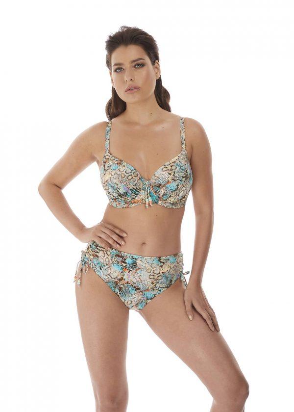 buy the Fantasie Manila Bikini Set in Iced Aqua
