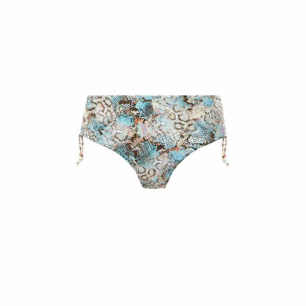 Fantasie Manila Bikini Set in Iced Aqua bikini brief cutout