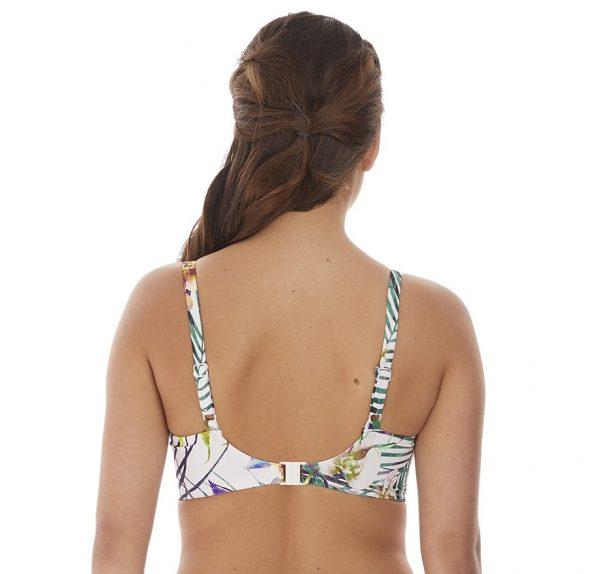 back view of Fantasie Playa Blanca Bikini Set in Multi bikini top