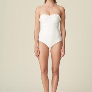 Marie Jo Swim Celine Strapless Swimsuit in Natural