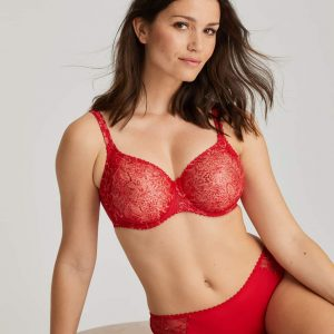 buy the PrimaDonna Alara Seamless Bra in Scarlet