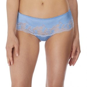 buy the Wacoal Lace Affair Tanga in Cashmere Blue