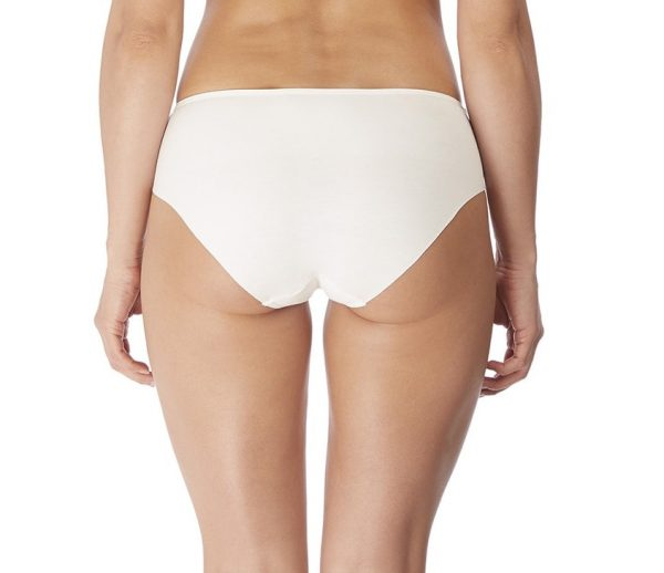 back view of Wacoal Lisse Brief in White