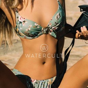 buy the Watercult Boho Blossom Bikini Set in Vintage Garden