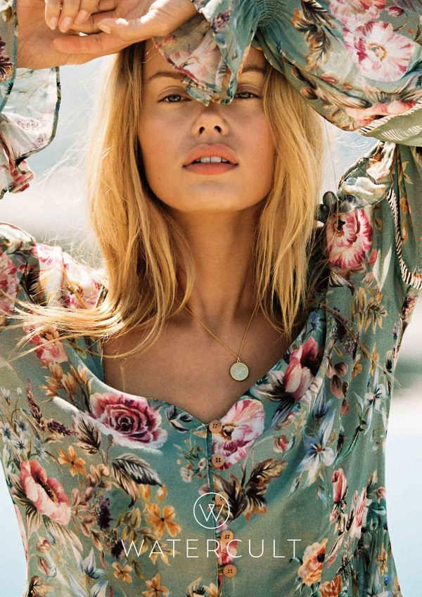 buy the Watercult Boho Blossom Dress in Vintage Garden