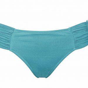 Watercult Summer Solids Bikini Set in Aqua Beat bikini brief