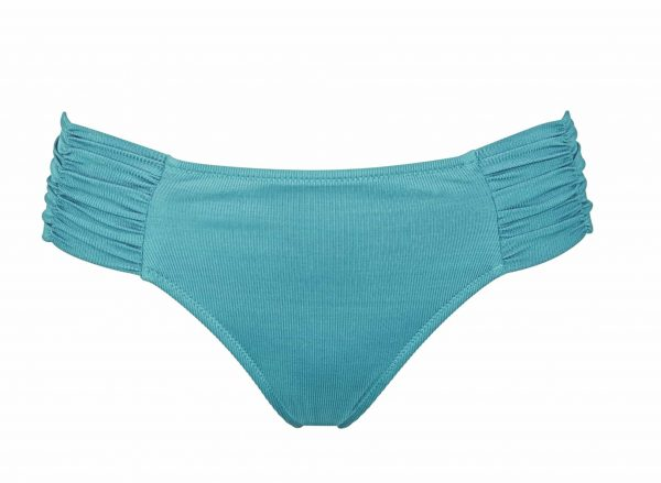Watercult Summer Solids Bikini Set in Aqua Beat bikini brief