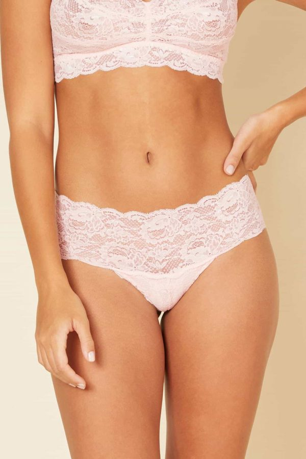 buy the Cosabella Never Say Never Hottie Hotpant in Pink Lily