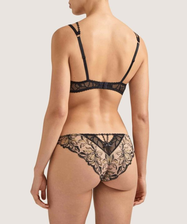 back view of Aubade Encre de Chine Brief in Ombre