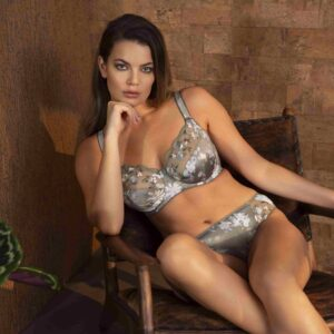 buy the Fantasie Emmie Side Support Bra in Evergreen