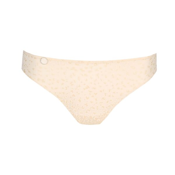 close up of Marie Jo L'Aventure Tom Rio Brief in Pearled Ivory