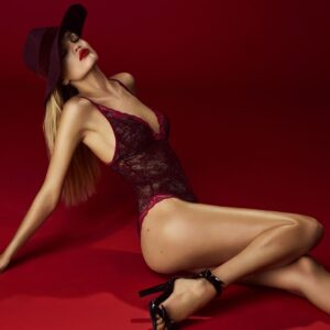buy the Andres Sarda Mamba Body in Red Boudoir