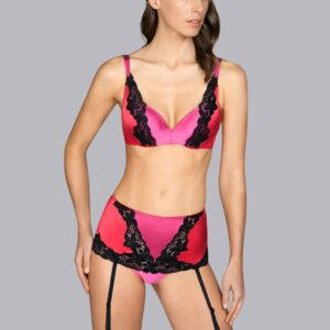 buy the Andres Sarda Michelangelo Plunge Bra in Wild Berries