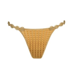 cutout of Marie Jo Avero Low Waist Thong in Gold