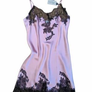 buy the Marjolaine Imperiale Silk Chemise in Pink