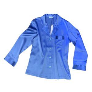 buy the Luna di Seta Silk Pajamas in Lavender