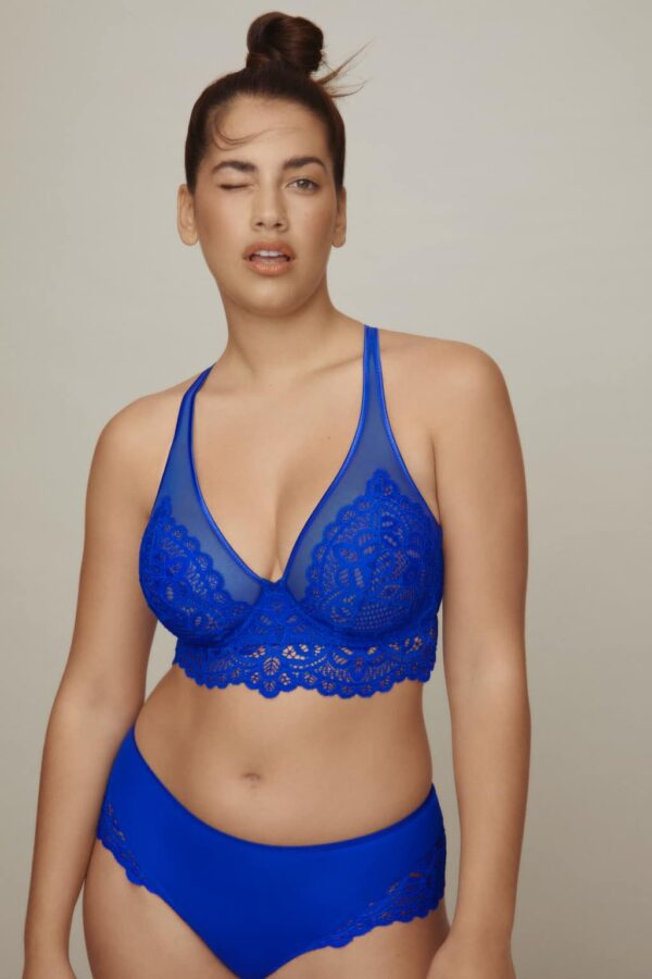 buy the PrimaDonna Twist First Night Triangle Bra in Electric Blue