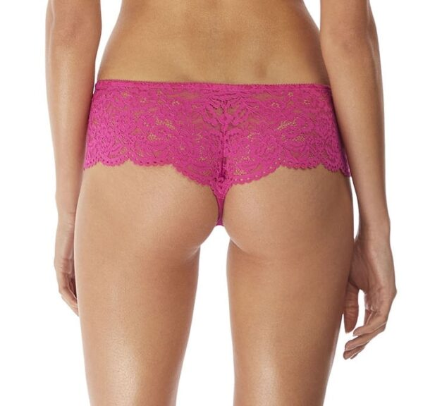 back view of b.tempt'd Ciao Bella Tanga in Pink Yarrow