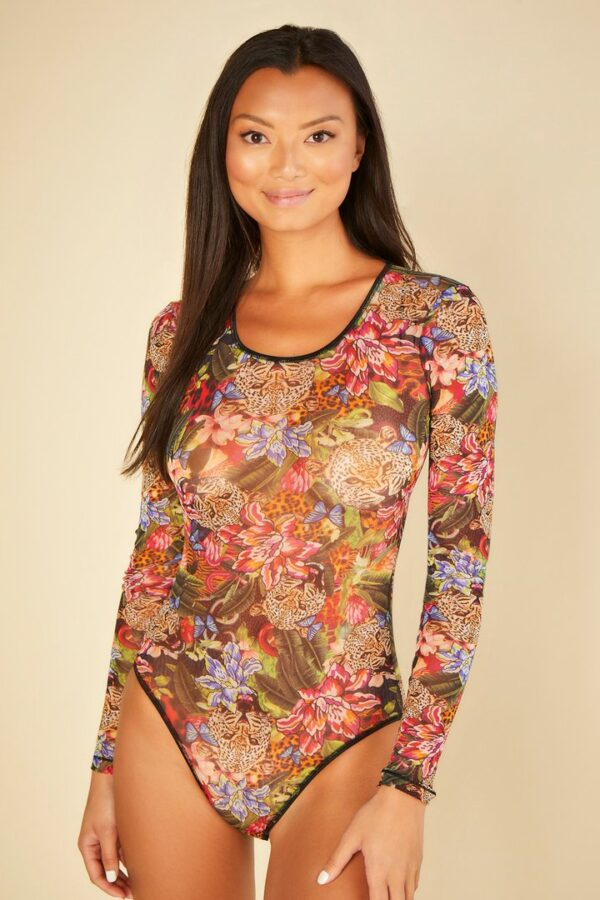 buy the Cosabella Soire Confidence Bodysuit in Tropical