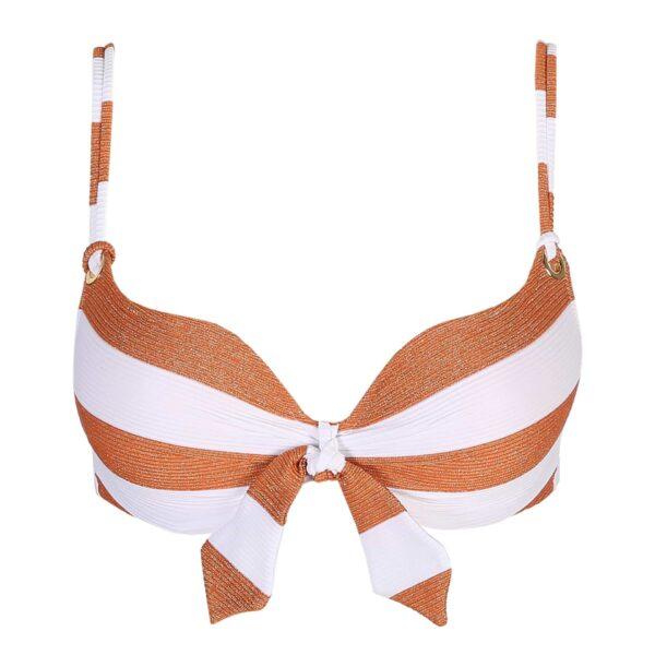Marie Jo Swim Fernanda Bikini Set in Summer Copper heart shape cutout