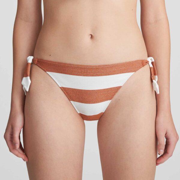 Marie Jo Swim Fernanda Bikini Set in Summer Copper tie side brief