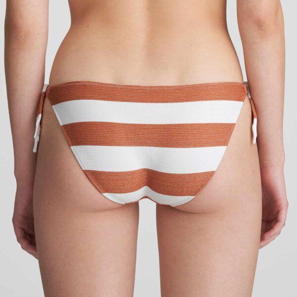 Marie Jo Swim Fernanda Bikini Set in Summer Copper tie side brief back view