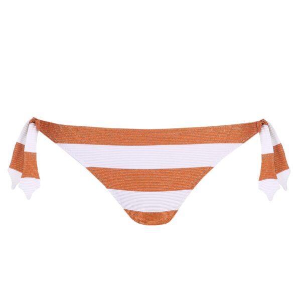 Marie Jo Swim Fernanda Bikini Set in Summer Copper tie side brief cutout