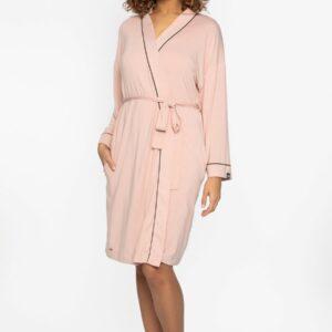 buy the Pretty You London Bamboo Kimono in Pink