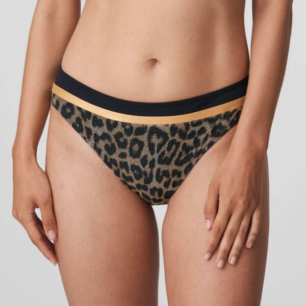PrimaDonna Swim Kiribati Bikini Set in Golden Safari rio brief