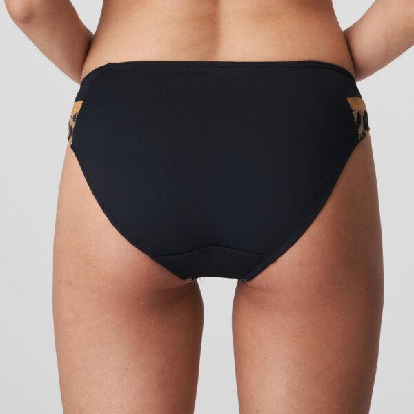 back view of PrimaDonna Swim Kiribati Bikini Set in Golden Safari rio brief