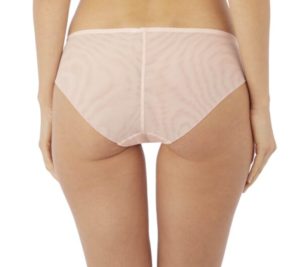 back view of Wacoal Reflexion Brief in Tea Rose