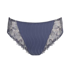 close up of PrimaDonna Deauville Full Brief in Nightshadow Blue