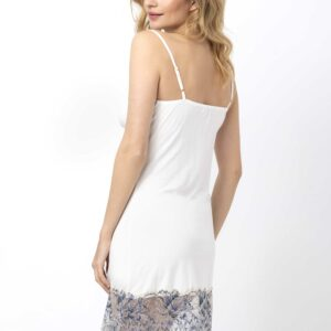 back view of Oh! Zuza Vanilla 3703 Chemise in Ivory