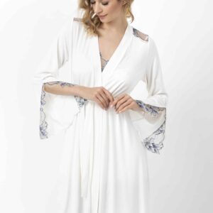 buy the Oh! Zuza Vanilla 3704 Robe in Ivory
