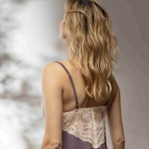 back view of Oh! Zuza Vanilla 3716 Chemise in Plum