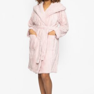 buy the Pretty You London Cloud Robe in Pink